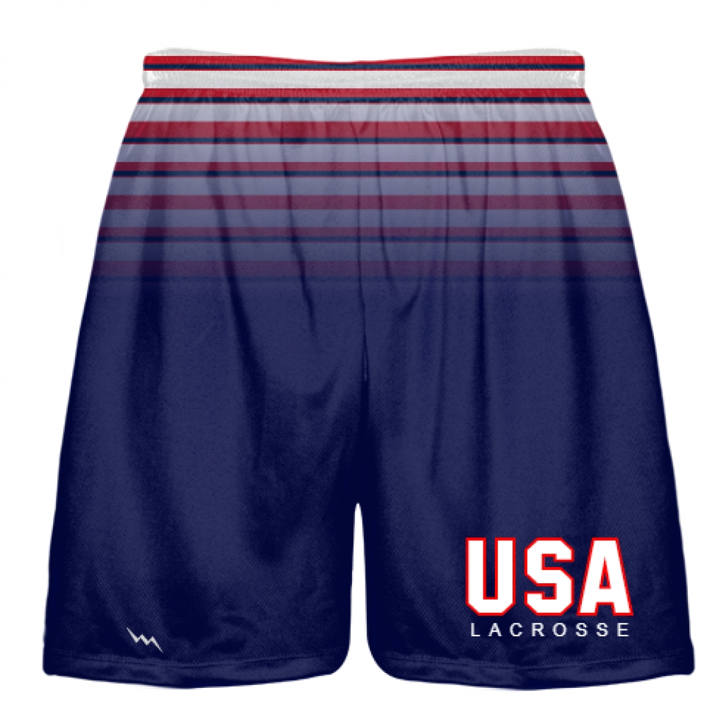 USA+Lacrosse+Shorts+-+Red+White+Blue+Lax+Shorts