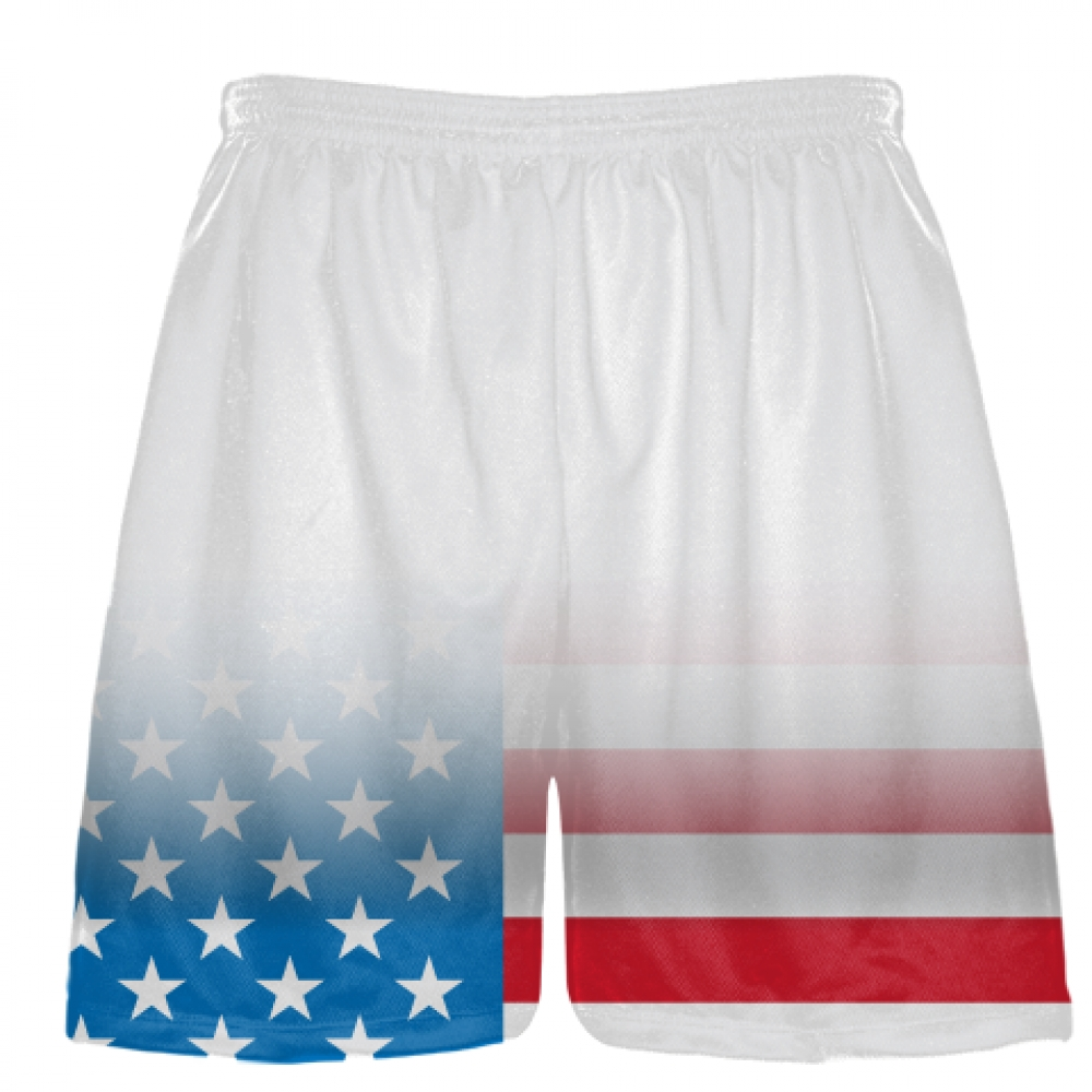 White+Fade+USA+Flag+Shorts