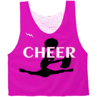 Cheerleading Pinnies