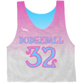Dodgeball Pinnies - Faded Color pinnies