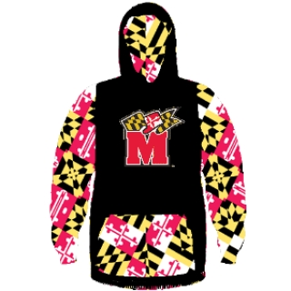 University of Maryland -  Terps Sweatshirt - Terps Hoodie