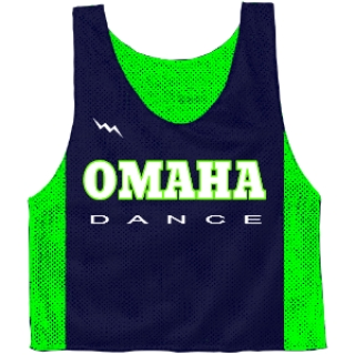 Omaha Dance Team Pinnies - Custom Dance Pinnies