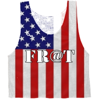 Custom Fraternity Pinnies Custom Frat Reversible Jerseys