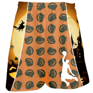Halloween Basketball Shorts