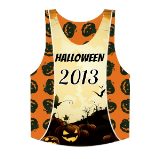 Halloween Pinnies - Custom Halloween Lacrosse Pinnies