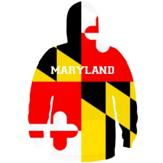 Maryland Flag Sweatshirt - Custom Maryland Hoodies