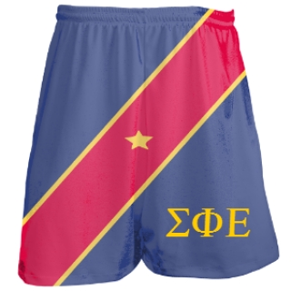 Sigma Phi Epsilon Shorts - Custom Fraternity Shorts