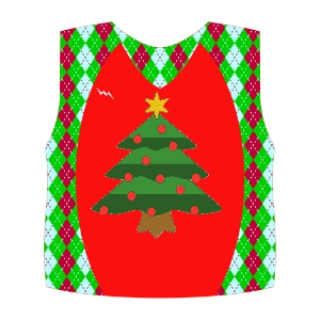 Christmas Pinnies - Custom Christmas Pinnie