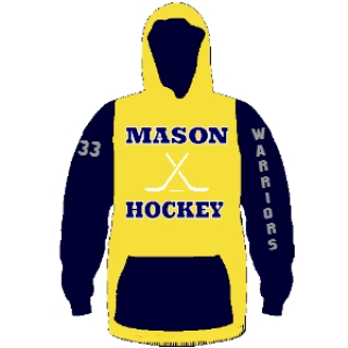 Hockey Hooded Sweatshirts - Custom Hockey Sweatshirts