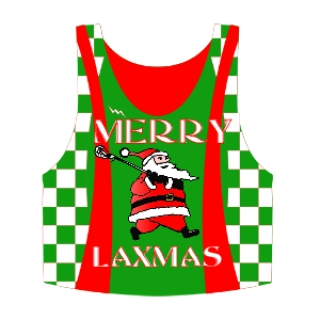 Christmas Pinnies - Custom Laxmas Pinnies