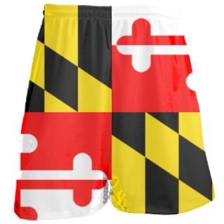 Maryland Flag Shorts