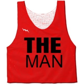 The Man Pinnies | Custom Jerseys