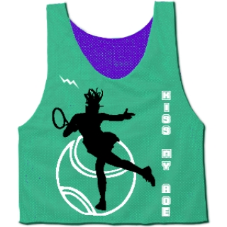 Tennis Themed Pinnie