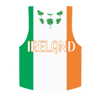 Irish Flag Pinnie | Shamrock Basketball Pinnies