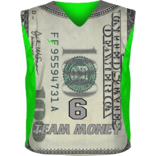 Team Money Reversible Jerseys | Dollar Pinnie
