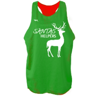 Christmas Pinnie | Reversible Jerseys for Girls