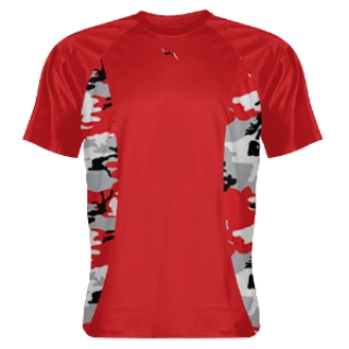 Camo Sides Red