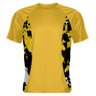 Splat Sides Yellow Shooting Shirt