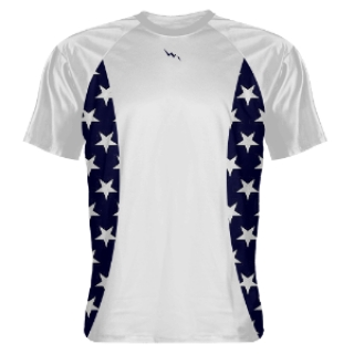 Shooting Shirts Star Sides White