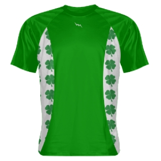 Custom T Shirts Shamrock sides