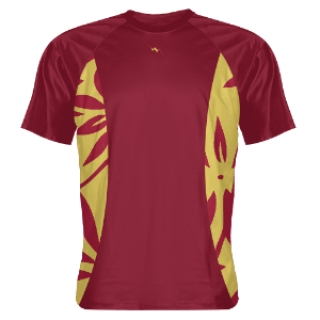 Cardinal Shooting Shirts | Hawaiian Sides Cardinal