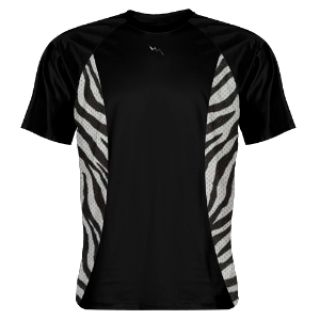Shooting Shirts Zebra Sides Black