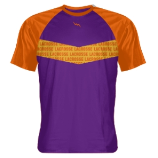 Purple Lacrosse Shooter Shirts - Custom T Shirts