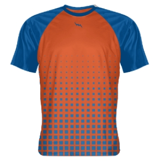 Shooter shirt blue orange
