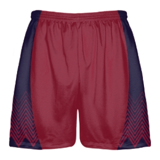 Navy Lacrosse Shorts - Zig Zag Shorts