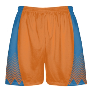 Orange Lax Shorts - Lacrosse Shorts