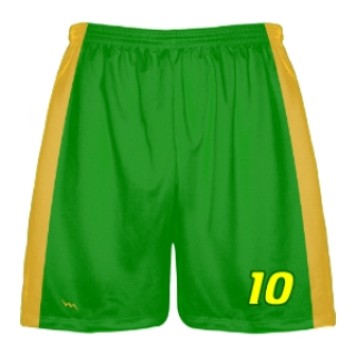 Green Lacrosse Shorts