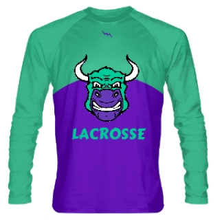 Bulls Long Sleeve Lacrosse Shirts