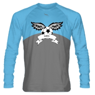 Custom Long Sleeve Soccer Jerseys