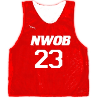 Basketball Pinnies With Numbers