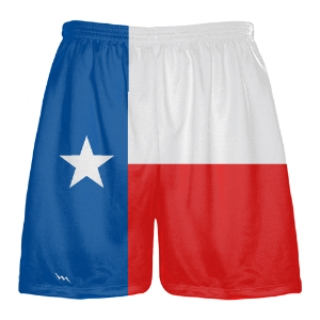 Texas Flag Shorts