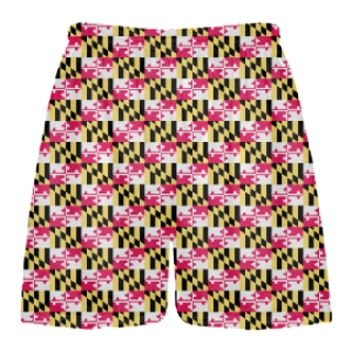 Small Maryland Flag Shorts