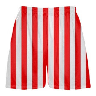 Red And White Shorts - The Else