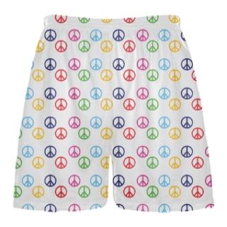 Peace Sign Shorts