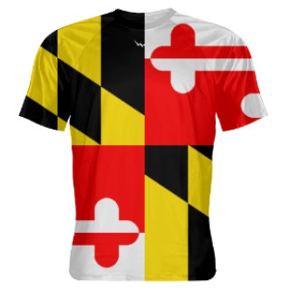 Maryland Flag Shooter Shirts