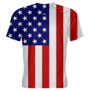 American Flag Shooter Shirts