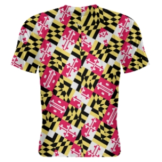 Spiral Maryland Flag Shooter Shirts