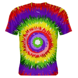 Sublimated Tie Dye Shooter Shirts