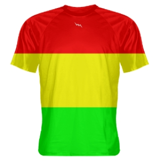 Rasta Flag Shooter Shirts