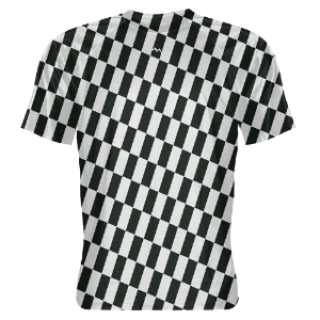Slanted Checker Shooter Shirts