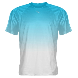 Light Blue Fade Shooter Shirts