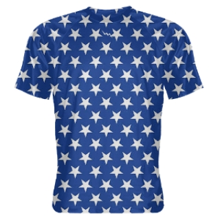 Blue Stars Shooter Shirts