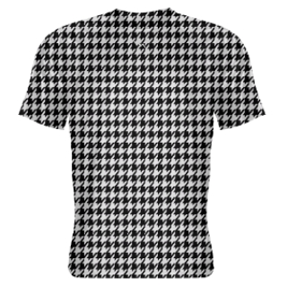 Black Hounds tooth Shooter Shirts