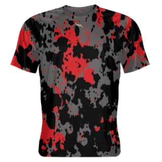 Paint Splatter Shooter Shirts
