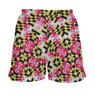Spiral Maryland Flag Girls Lacrosse Shorts
