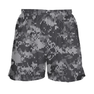 Girls Digital Camouflage Shorts
